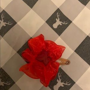 Other - Red leaf hairbow